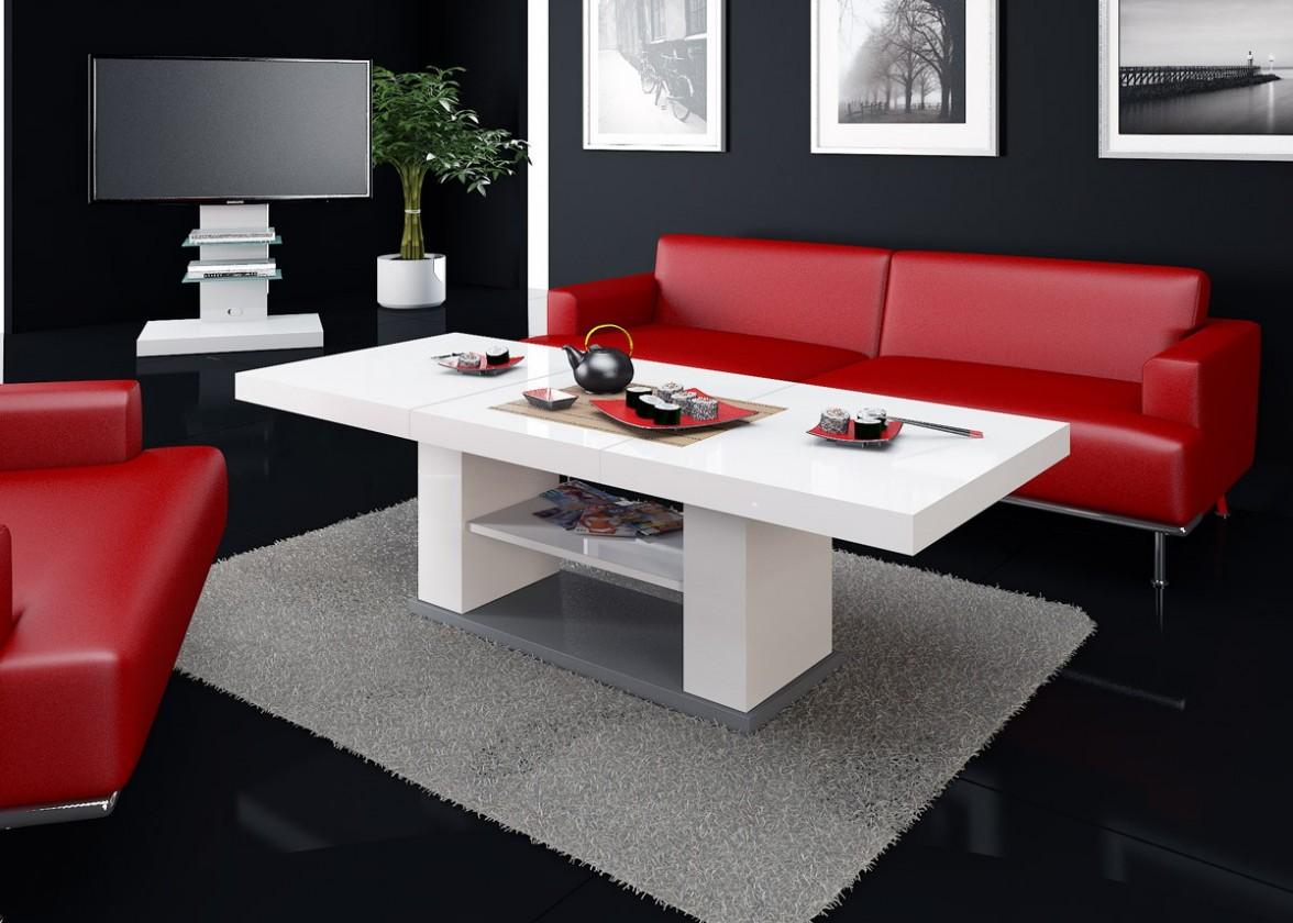 Konfereční stolek - dřevěný Konferenční stolek Matera 2