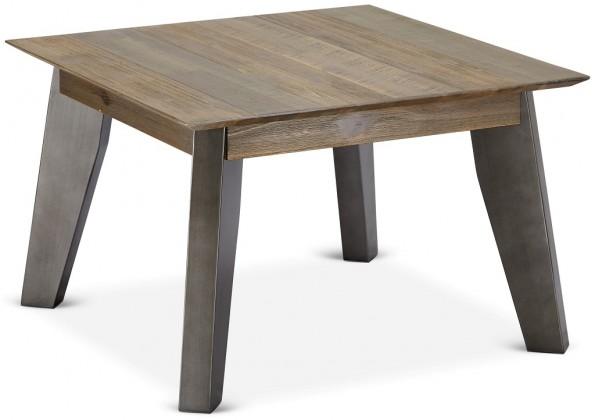 Konfereční stolek - dřevěný Konferenční stolek Mety (dřevo, hnědá)