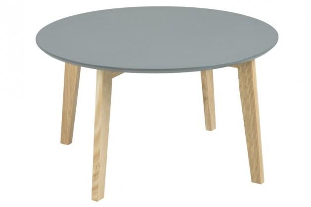 Konfereční stolek - dřevěný Konferenční stolek Molina II (šedá/jasan)