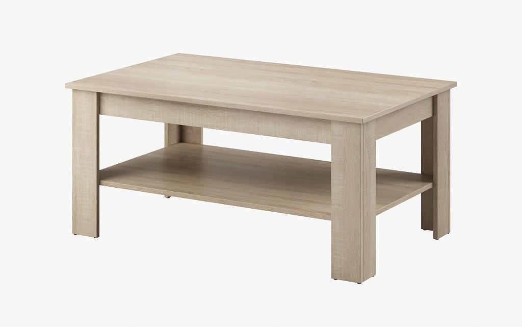 Konfereční stolek - dřevěný Konferenční stolek Nive - obdélník (dub sonoma)