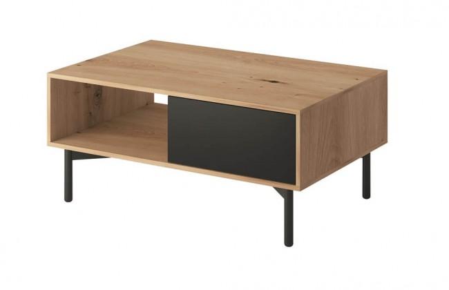 Konfereční stolek - dřevěný Konferenční stolek Preston (dub)