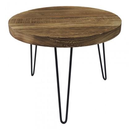 Konfereční stolek - dřevěný Konferenční stolek Shape 45x36x45 (světlé dřevo)