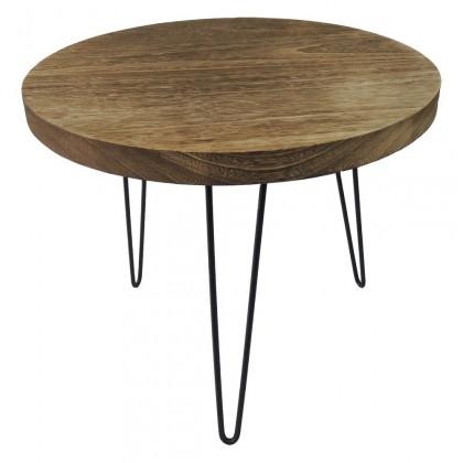 Konfereční stolek - dřevěný Konferenční stolek Shape 50x42x50 (světlé dřevo)