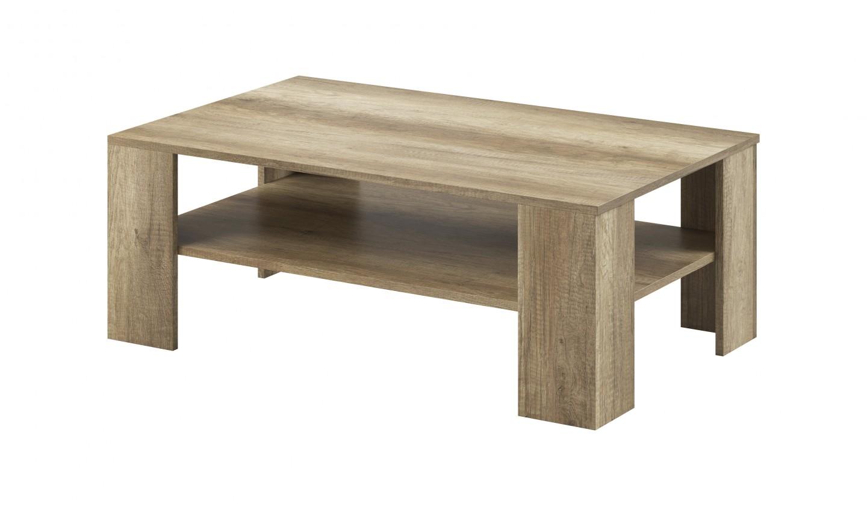 Konfereční stolek - dřevěný Konferenční stolek Sky - ABS (country šedá)