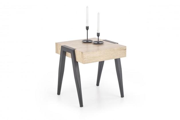 Konfereční stolek - dřevěný Konferenční stolek Spot (hnědá)