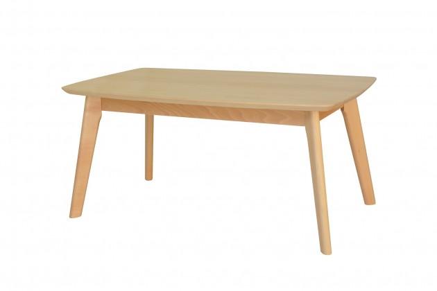 Konfereční stolek - dřevěný Konferenční stolek ST202002 (bílá/buk)