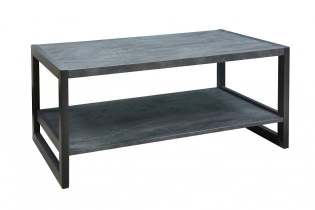 Konfereční stolek - dřevěný Konferenční stolek ST202004 (buk/buk černý)
