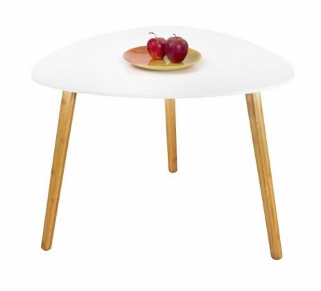 Konfereční stolek - dřevěný Konferenční stolek Summer - větší (bílá)