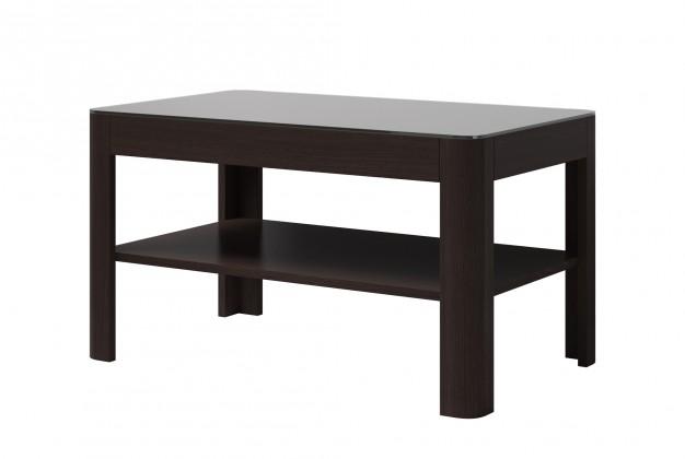 Konfereční stolek - dřevěný Konferenční stolek Togo (wenge/černý lesk)