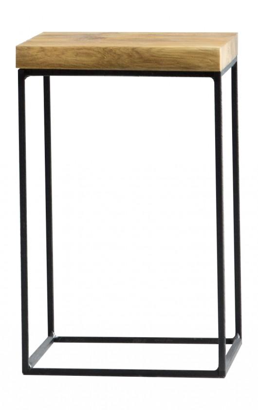 Konfereční stolek - dřevěný Loft - Konfereční stolek, 30x60x30 cm