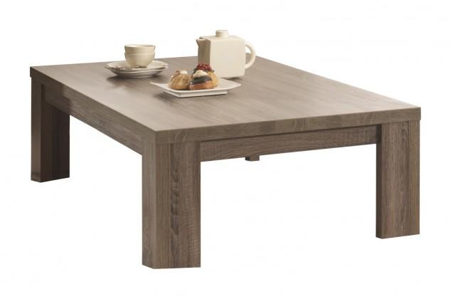 Konfereční stolek - dřevěný Natura - Kávový stůl C076 (dub černý)