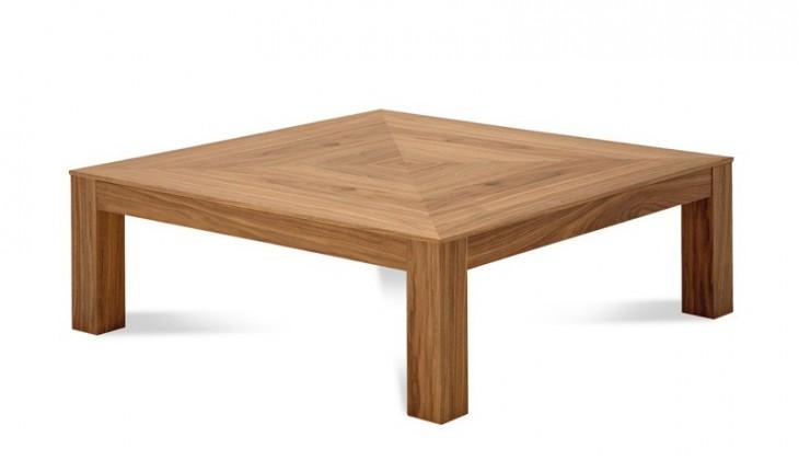 Konfereční stolek - dřevěný Next-10 - Konferenční stolek (ořech)