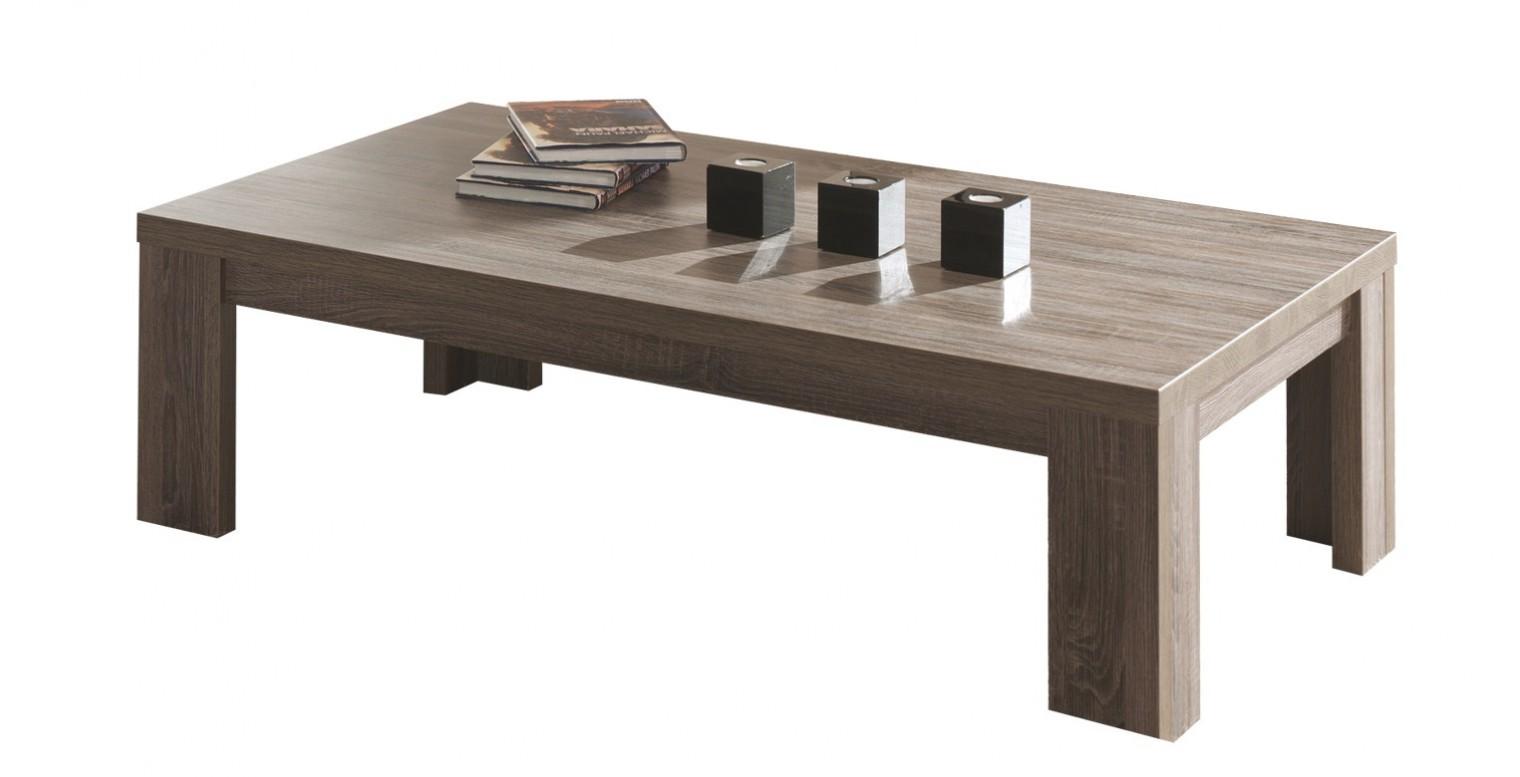 Konfereční stolek - dřevěný Raffia - Kávový stůl C076 (dub černý)