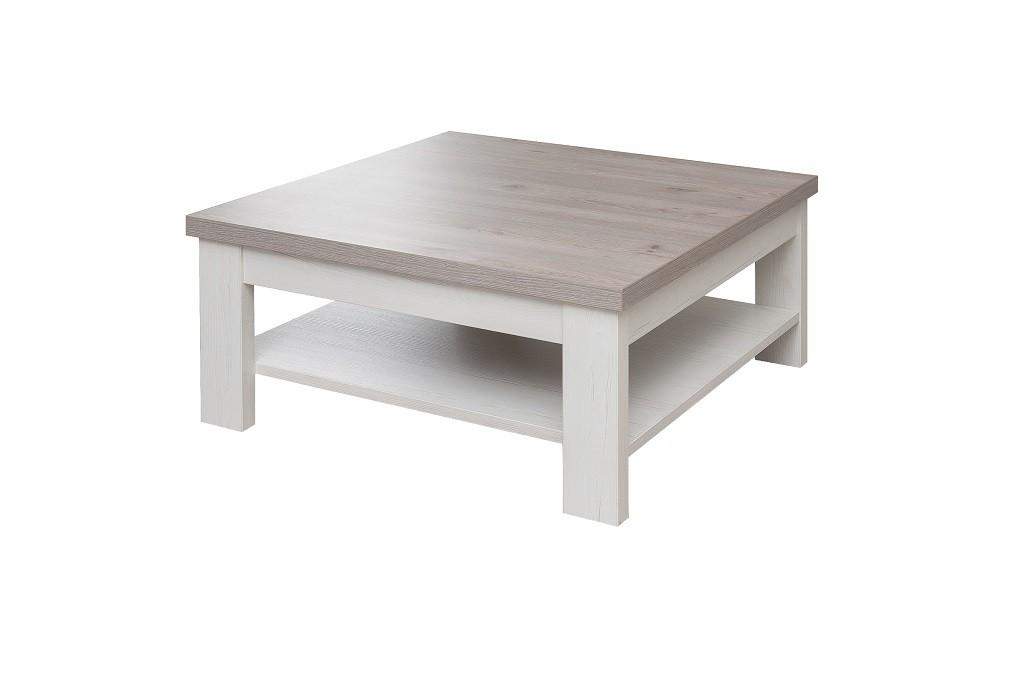Konfereční stolek - dřevěný Semi - Typ 64 (pino aurelio/dub nelson)