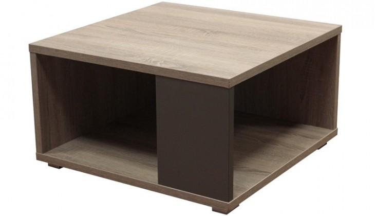 Konfereční stolek - dřevěný Squat (Dub Trüffel/Grafit)