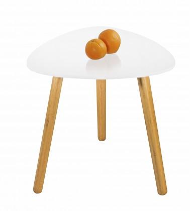 Konfereční stolek - dřevěný Summer 2 - Konferenční stolek (bílá)