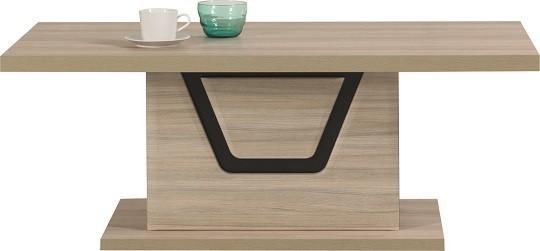 Konfereční stolek - dřevěný Tes - Konferenční stolek (jilm, korpus a fronty)