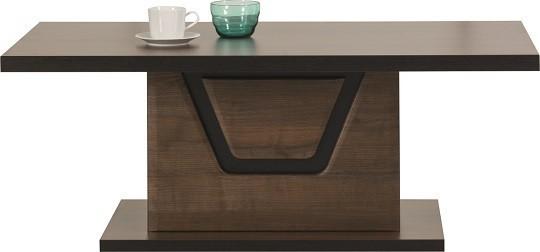 Konfereční stolek - dřevěný Tes - Konferenční stolek (ořech, korpus a fronty)