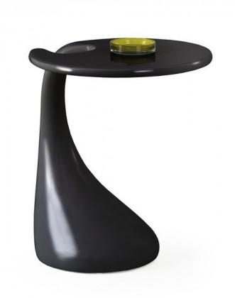 Konfereční stolek - dřevěný Viva(černá)