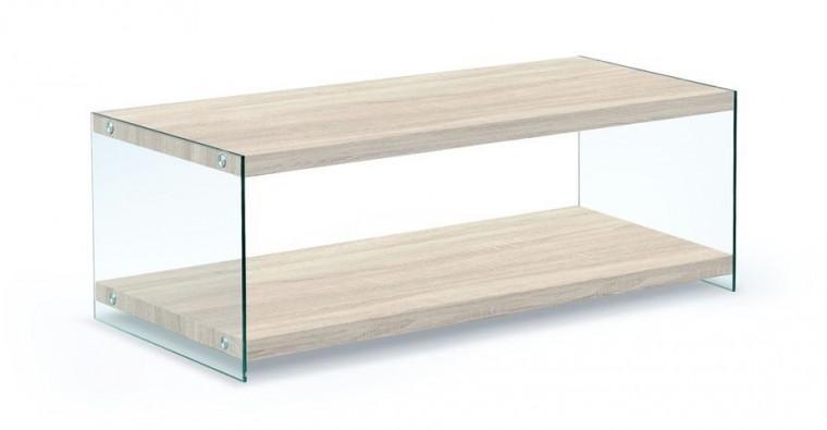 Konfereční stolek - dřevěný Vivian(dub sonoma)