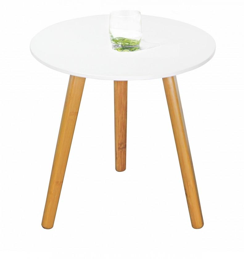 Konfereční stolek - dřevěný Winter 3 - Konferenční stolek (bílá)