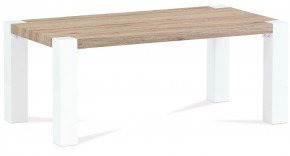 Konferenční stolek AC 102 (dub san remo/bílá vysoký lesk)