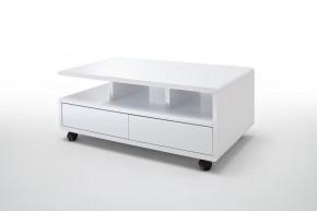 Konferenční stolek Alkes (bílá)
