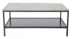 Konferenční stolek Ascot - obdélník (přírodní mramor, ocel)