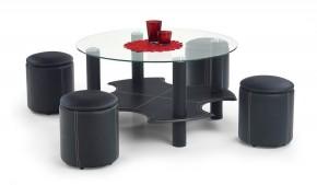 Konferenční stolek Belinda (černá)