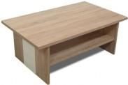 Konferenční stolek Bori (Dub bardolino/Vanilka)