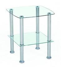Konferenční stolek Canaria (sklo)