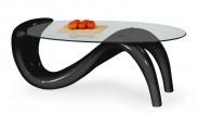 Konferenční stolek Cortina (Černá)