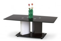 Konferenční stolek Debra (bílá/ černá)