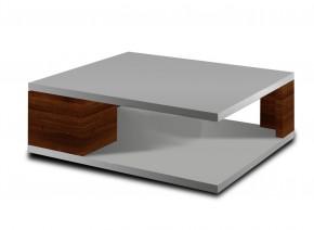 Konferenční stolek Diva (bílá/ořech)