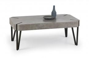 Konferenční stolek Emily (beton/černá)