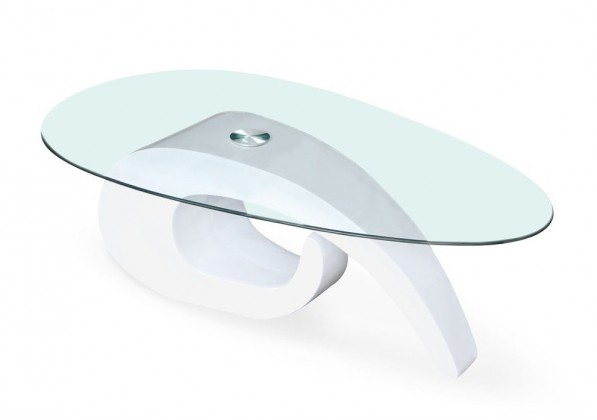 Konferenční stolek Gerda (bílá)