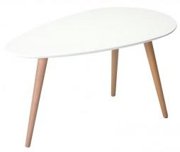 Konferenční stolek Gert (bílá)