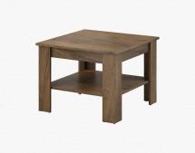 Konferenční stolek Gete - čtverec (dub burgundský)