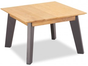 Konferenční stolek Hakon - 70x45x70 cm (hnědá, šedá)