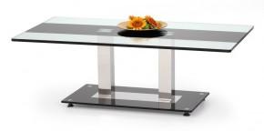 Konferenční stolek Julia (sklo/černá)