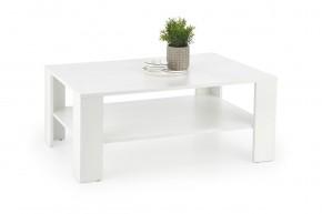 Konferenční stolek Kwadro (bílá)  - II. jakost