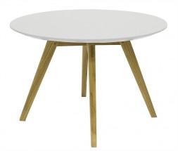 Konferenční stolek Lola Bess - bílá, dub (9317-054+9366-001)