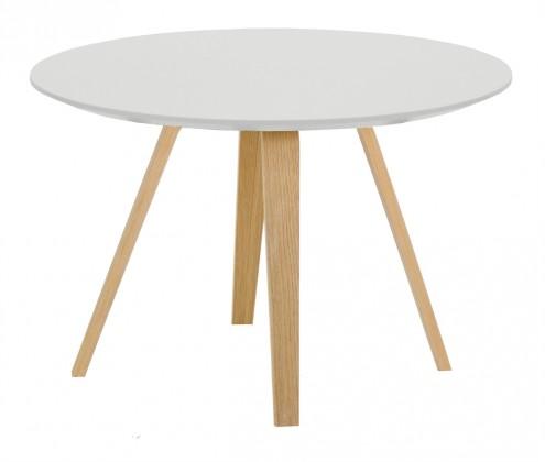 Konferenční stolek Lola Ella - bílá, dub (9315-054+9366-001)