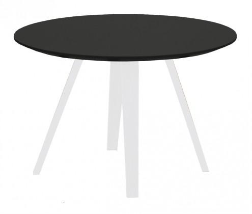 Konferenční stolek Lola Ella - černá, bílá (9315-001+9366-024)