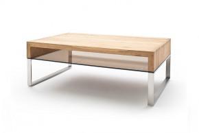Konferenční stolek Maren - 110x39x70 (dub, hnědá)
