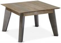 Konferenční stolek Mety (dřevo, hnědá)