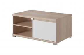Konferenční stolek Milo (dub sonoma, bílá)