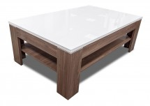 Konferenční stolek Saint Tropez-SVOT22 (dub sangalo/bílý lesk)