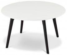 Konferenční stolek Sens (bílá, černá)