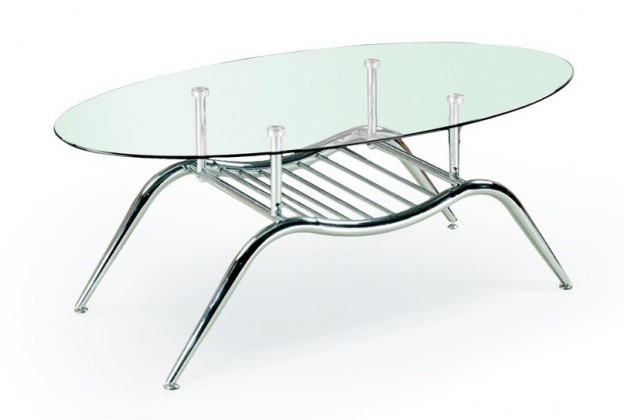 Konferenční stolek - skleněný Agnes(sklo)